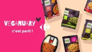 Carrefour x Veganuary
